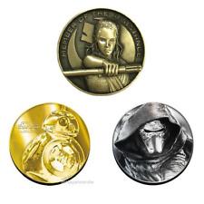 New Star Wars The Last Jedi / The Force Awakens Japan Movie Theater Ltd Medal
