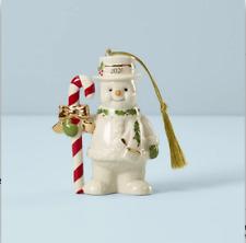 Lenox Christmas Figural Snowman Ornament New 2020 890078