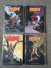 4 book lot Mike Mignola HELLBOY OMNIBUS Vol 1 2 3 4 tpb Dark Horse Comics $100