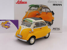 "Schuco 00413 # BMW Isetta Export Baujahr 1955-62 "" gelb-beige "" 1:18 MHI-Edition"