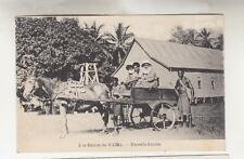 PAPUA NEW GUINEA, c1920 ppc. WAIMA STATION, Missionary & Natives in Horse & Cart