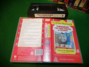 THOMAS THE TANK ENGINE & FRIENDS - THOMAS & THE SPECIAL LETTER 9 stories ABC Vhs