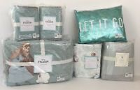 Pottery Barn Kids Frozen Full Queen Quilt Shams Sheets Pillow Bed Skirt Set NEW