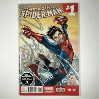 AMAZING SPIDERMAN #1 SILK CINDY MOON CAMEO MARVEL (2014) VF/NM
