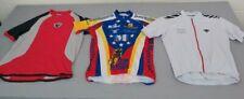 3 Bike Jerseys Men's M Voler Team Memorial Pearl Izumi T-Style Descent Full-Zip