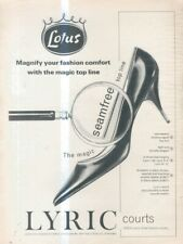 "(B10) VOGUE/HARPERS/NOVA MAGAZINE ADVERT 13X10"" LOTUS - LYRIC COURTS"