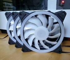 |3 pack | RGB 12 cm PC Case Cooling Fan |  | US Seller | 3 pin & 4 pin molex