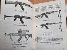 1983 Rifle 7,62 mm M70 M70A M72 Sub Machine Gun Yugoslavia army Jna manual book
