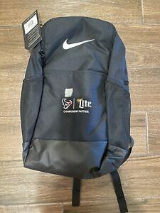 Houston Texans Miller Lite Nike Backpack/Laptop Bag, Brand New, NFL & Beer