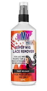 Hair Extension Lace Remover WEGI Tape Glue Bond Adhesive Remover Spray 50ML *UK
