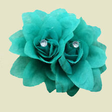 Hairpin Floral Rose Bridal Beauty Flower Hair Clip For Wedding Party Decor NEW