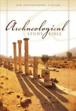 NIV, Archaeological Study Bible, Hardcover: An Illustrated Walk Through Biblical