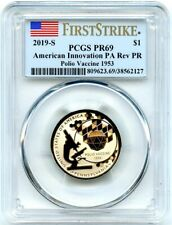 2019-S American Innovation Rev Proof Dollar Pennsylvania PCGS PR-69 First Strike