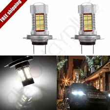 2x Xenon H7 Cree LED 60W 6000LM Bulbs hi/Low Beam HID Lamp Lights Vehicle6000K