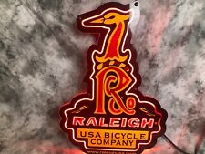 Raleigh USA Bicycle Company Neon Dealer Sign 1999