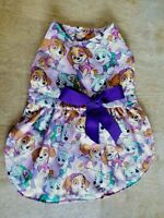 Medium Size Paw Patrol Fabric Dog Dress