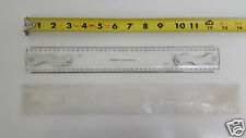 NOS Southern Photo Print & Supply Co Drafting Machine Scale Ruler 12
