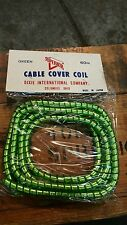 NOS Cable Wrap Throttle Brake Clutch Cable Coil Cover Harley Triumph BSA Chopper