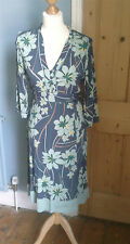beautiful viscose dress by Monsoon size 8