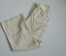 2efbbb0f58 Women s Michael Kors Linen Trousers Beige Color Size 0 ...