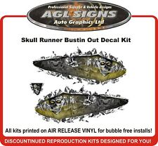 SKULL RUNNER  BUSTIN OUT GRAPHIC WRAP  decal sticker ski-doo rev mxz Arctic cat