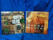 2 Books on Herbs:  Herbal Pantry and Gifts fro the Herb Garden.  First Editions