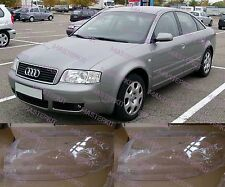 Audi A6 C5 2002-2004 Left and Right Front Kit Cover Lens for Headlights + Glue