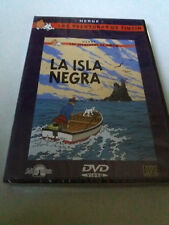 """DVD """"TINTIN LA ISLA NEGRA"""" PRECINTADO SEALED HERGE LAS AVENTURAS DE"""