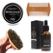 Beard Oil Balm Brush Comb Men Moustache Cream Moisturizing Wax Male Beard Care