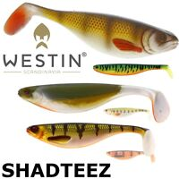 Westin Lures SHAD TEEZ up to 27cm Lure fishing Paddle tail Realistic shad Pike