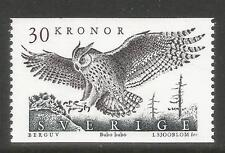 Sweden 1989 Eagle Owl 30kr high value--Attractive Bird Topical (1761) MNH
