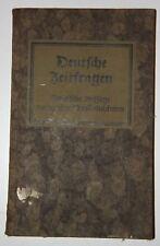 Theodor Oppermann (Hrsg.): Deutsche Zeitfragen. Politische Aufsätze ... 1929