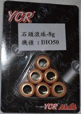Honda SA50, SE50 Elite sr,s,lx Roller Weights 7 gram