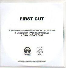 (P986) First Cut, Buffalo '77 / Mendicant / Finka DJ CD