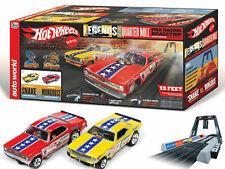 HO Slot Car Track - Auto World - Hot Wheels Snake vs. Mongoose Drag Racing Set