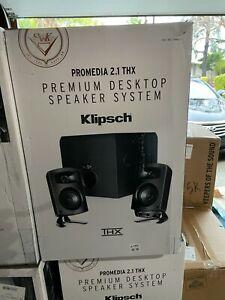 Klipsch ProMedia 2.1 THX Computer Speaker System - Black