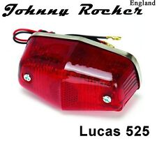 Lucas 525 style rear lamp stop and tail light cafe racer bobber