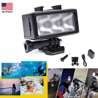 Underwater Waterproof Diving Spot Light LED Mount for GoPro Hero 3 4 3+ Camera