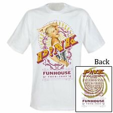 Pink-Funhouse tour 2009-t-shirt-taille size L-NEUF