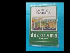 LA BELLA E LA BESTIA (TRASFERELLI/DECALCOMANIE)