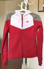Nike Women's Red Track Sports Jacket Size S