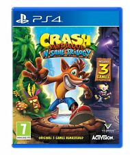 Crash Bandicoot N.Sane Trilogy (PS4) Brand New & Sealed UK PAL Quick Dispatch