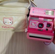 Vintage SANRIO Hello Kitty Instant Polaroid Camera 600  Bag set Used
