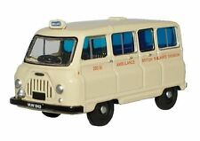 Oxford 76JM019 Morris J2 British Railways Ambulance White 1/76 New – T48 Post W