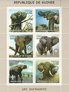 Elephant Guinea 2002 Mint 2242