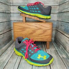 New listing Under Armour Micro G Womens Size 9 Sneaker Running Shoe Athletic Lace Up Mesh UA