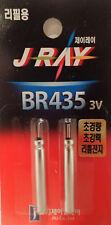 BR435 J RAY Batterie 4mm x 35mm 3V Ersatzbatterie für Posen