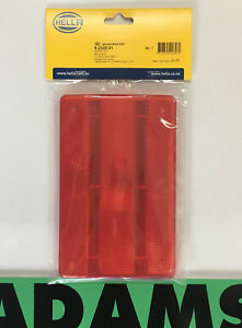 Genuine HELLA Red Lens to suit 2320 & 2422 Stop/Tail Lamps P/N 9.2320.01 9232001