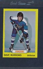 1973/74 Topps #027 Dave Burrows Penguins NM/MT *569