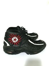 Rare Vintage 90s Dennis Rodman High Top Converse All Star 91 Black Red Size 11